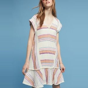 Anthropologie Holding Horses Elira Striped Dress